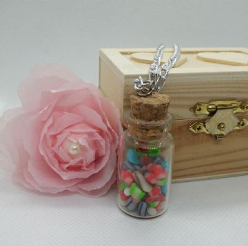 Miniature Rock Sweet Jar Pendant